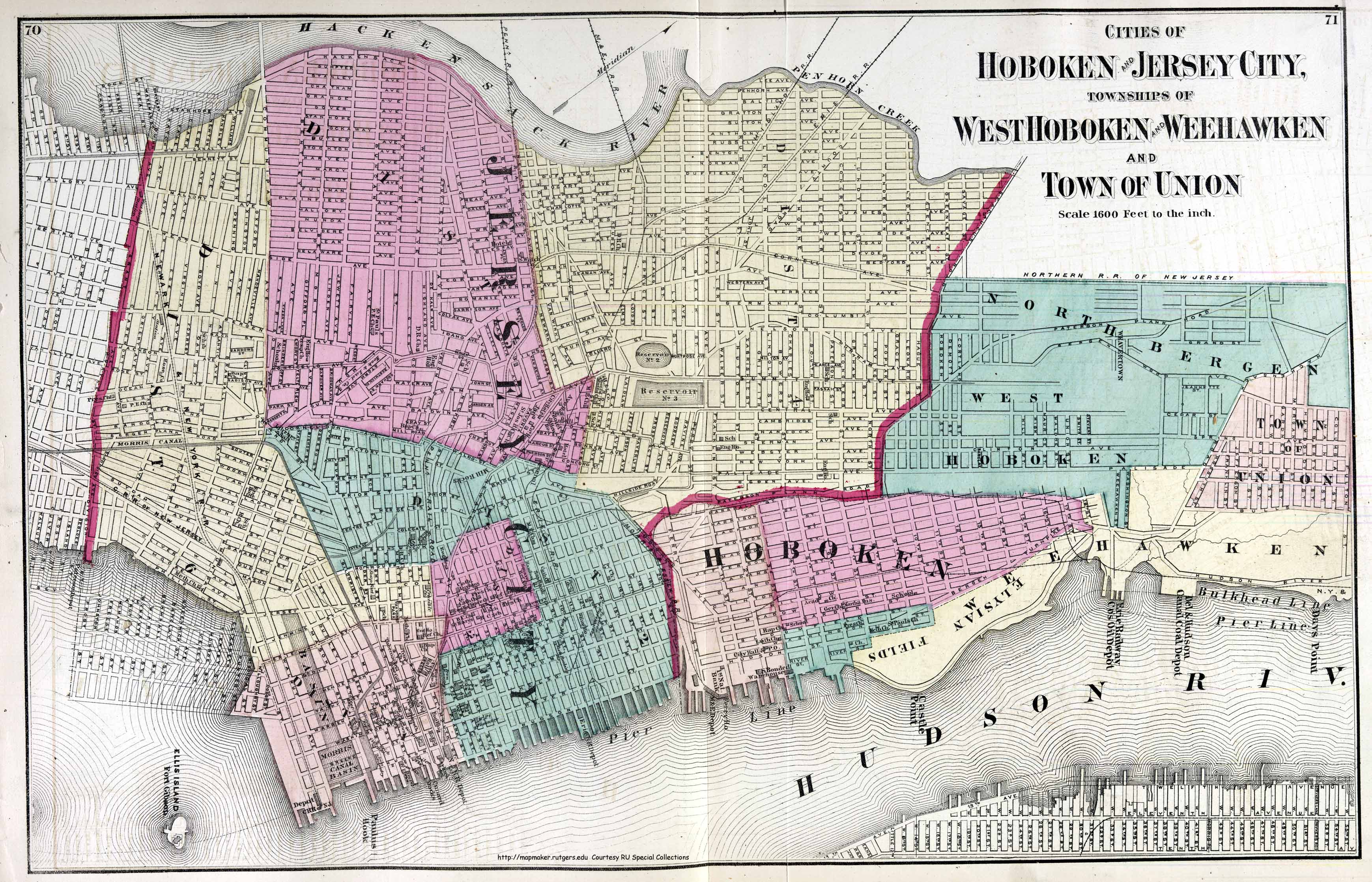 New Jersey Historical Maps - Nyc city map portal