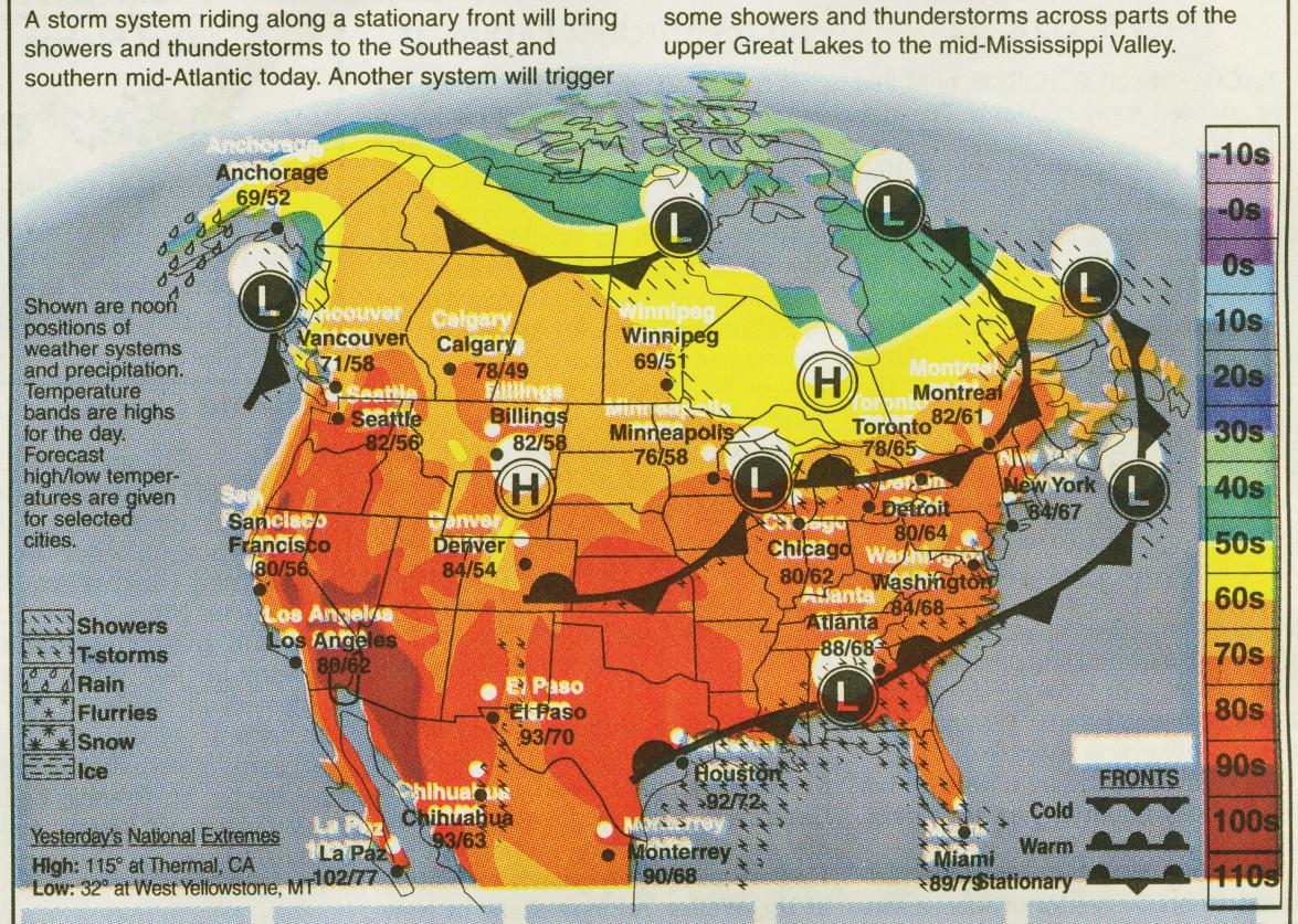Weather map of united states east coast weather map map entrancing weather map of united states current weather map of united states how to read a weather sciox Choice Image