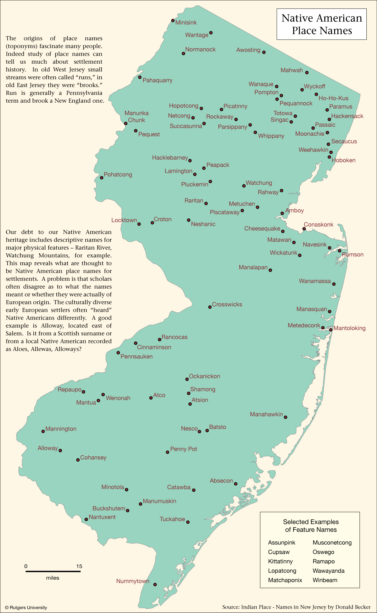 orthopoquads of new jersey from njgin us board on geographic names list of feature and place names makes online maps searchable