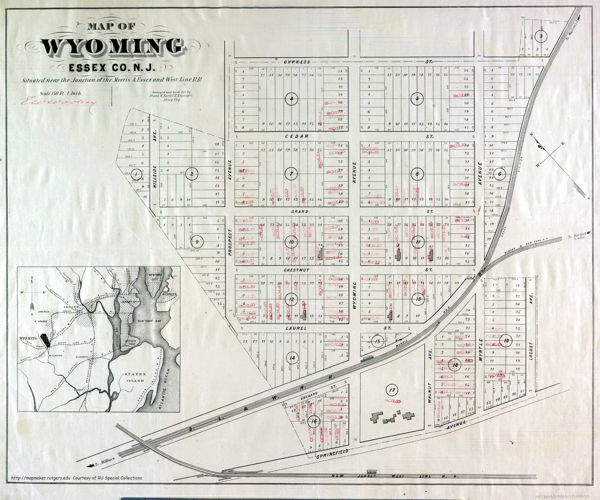 RAILROADNET  View Topic  Historical NJ RR Maps