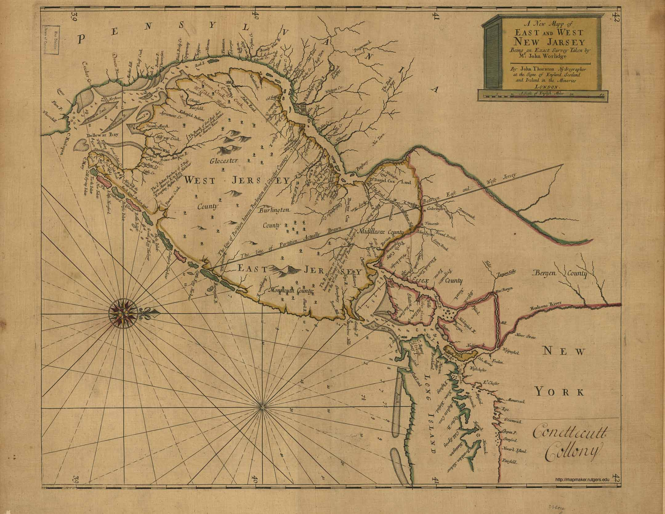 new jersey 1664