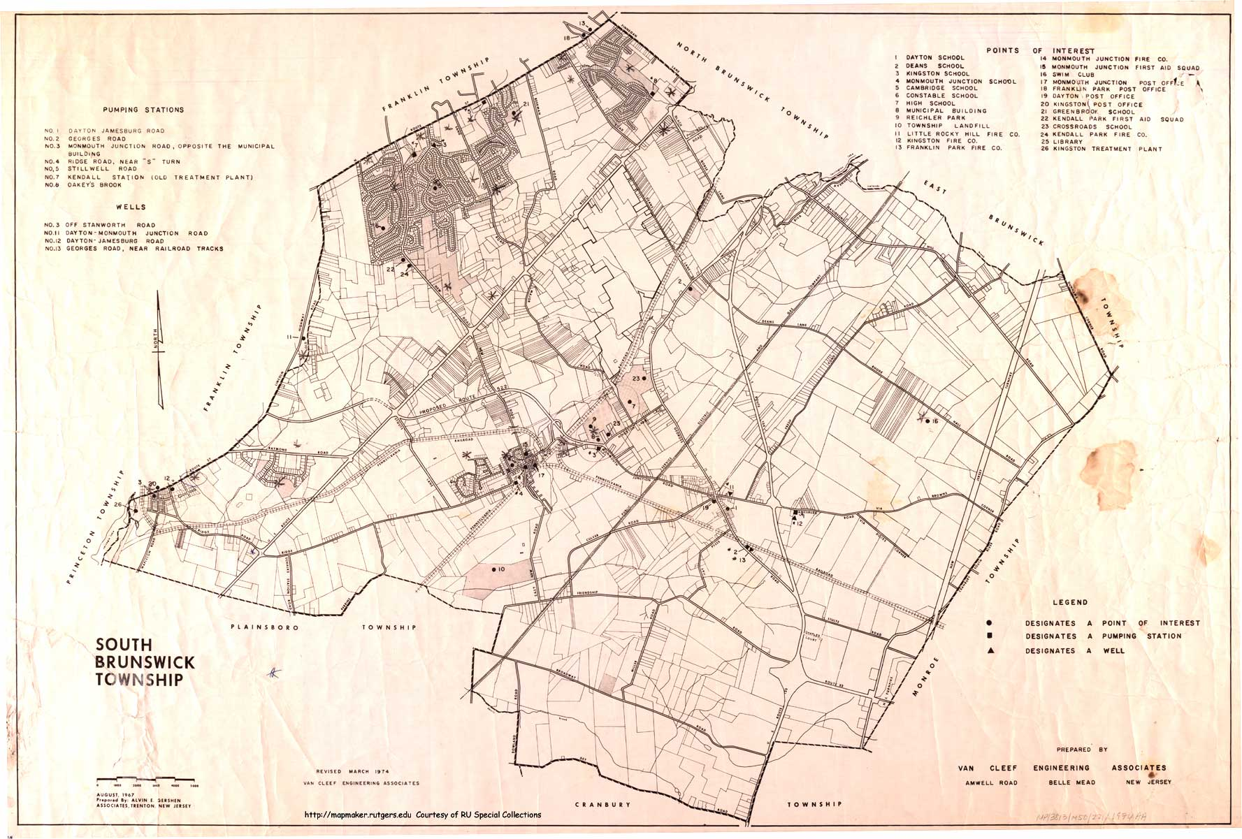 New Jersey Historical Maps - South jersey map