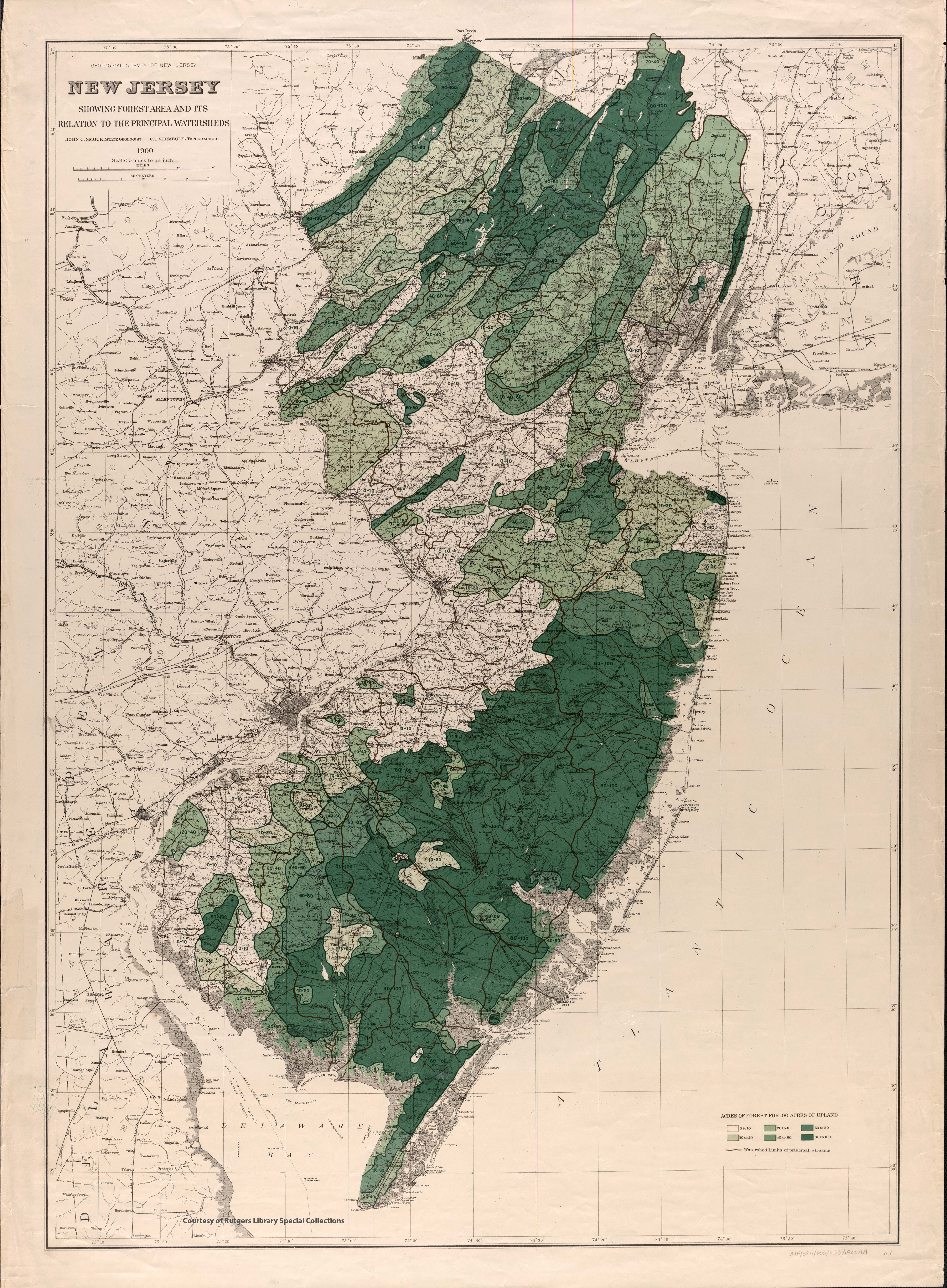 New Jersey Historical Maps - New jersey area code map