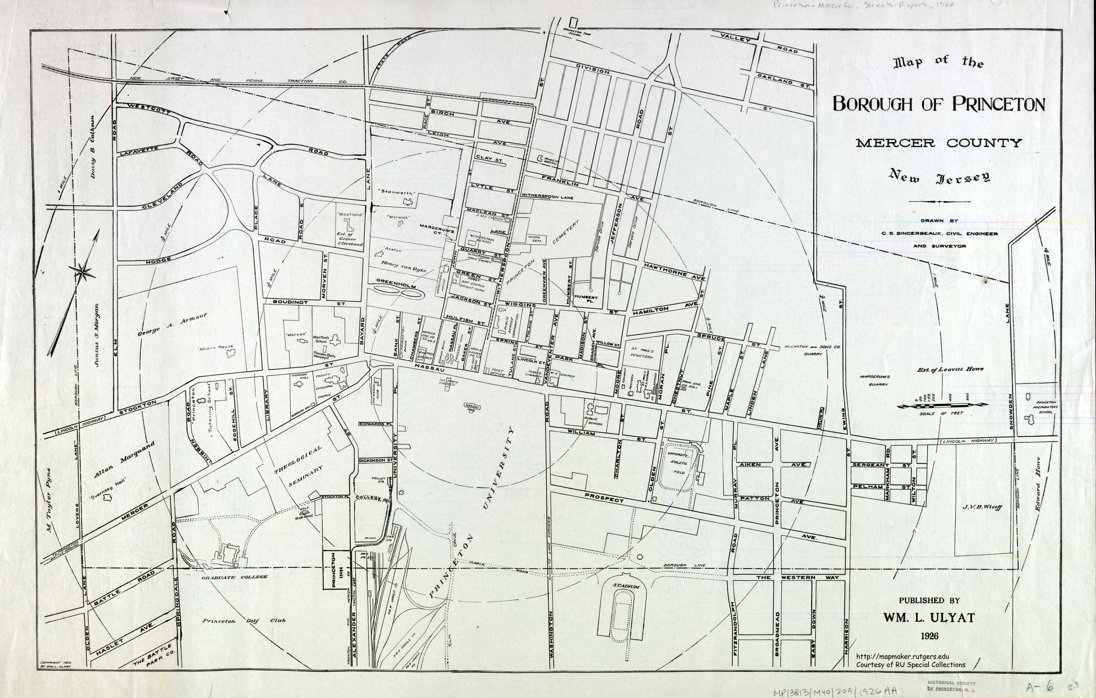 historic princeton - princeton c