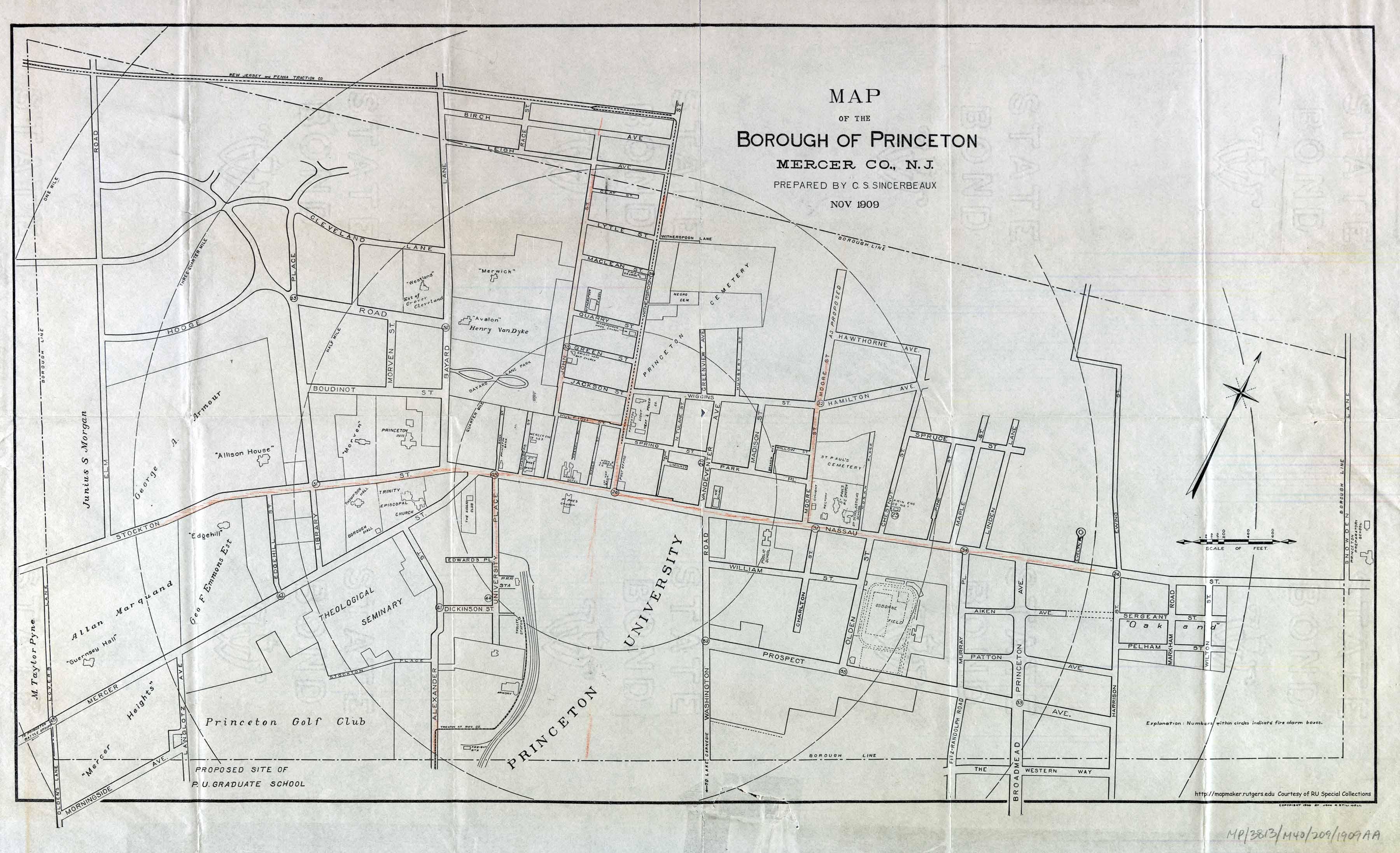 Historic Princeton on