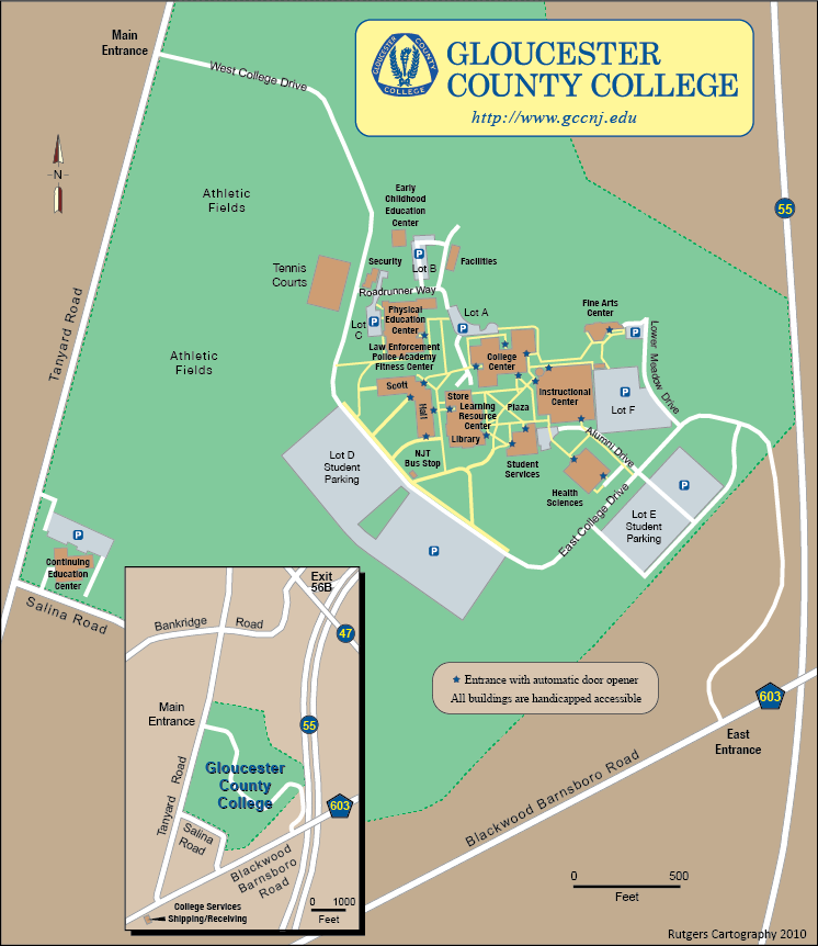 Valparaiso Campus Map.Rutgers Cartography Lab